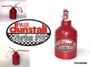 Dunstall Classic Bike Oil Cans Set PC00258